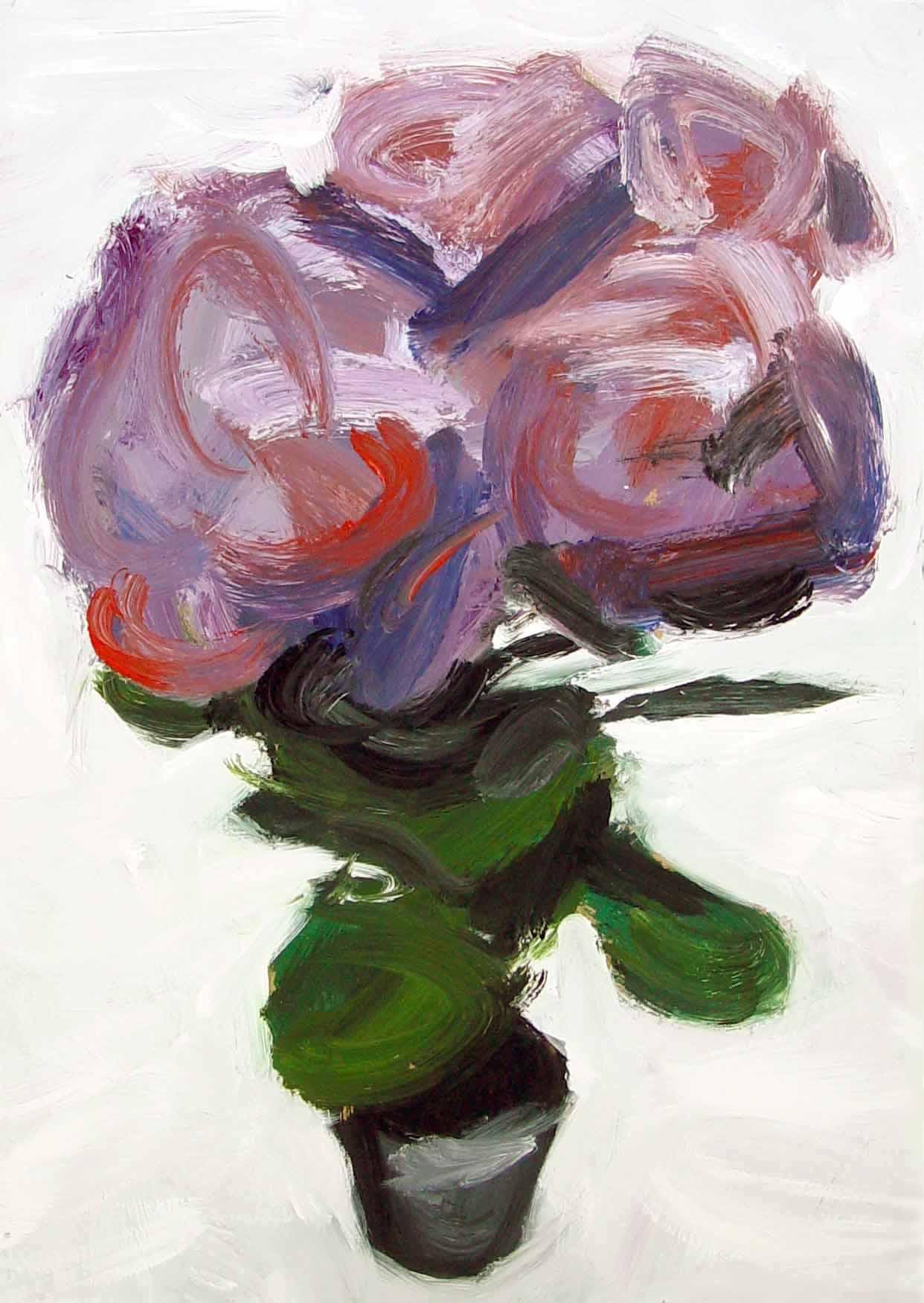 Flower Paintings Clairelloydloves